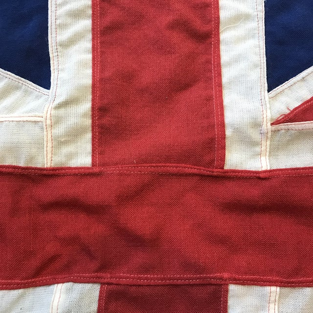 UK Union Jack Cloth Flag For Sale - Image 4 of 5