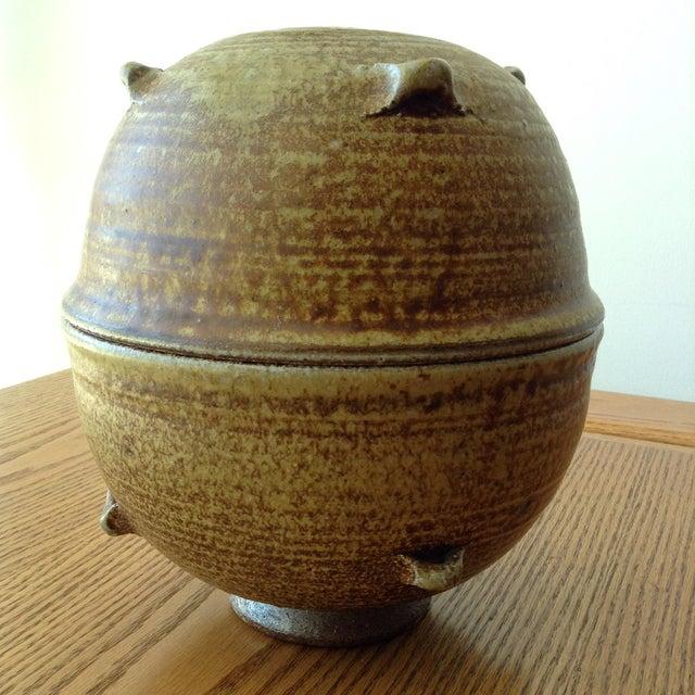 Vintage 1960s Ceramic Vessel For Sale In Los Angeles - Image 6 of 9