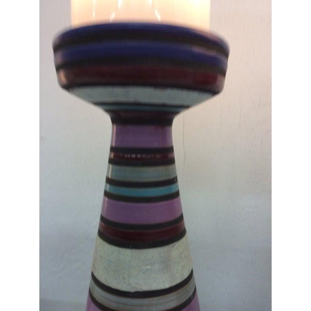 Aldo Londi Bitossi Ceramic Table Lamps - a Pair For Sale - Image 10 of 11