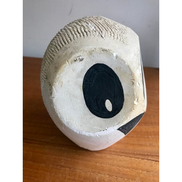 Abstract Mid-Century Original Modernist Owl Sculpture For Sale - Image 3 of 7