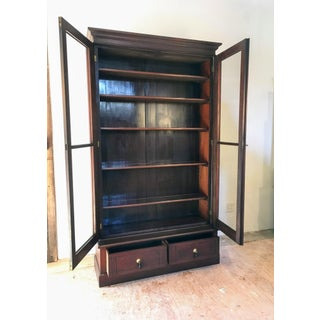 19th Century Victorian Two Door Bookcase Display Cabinet Preview