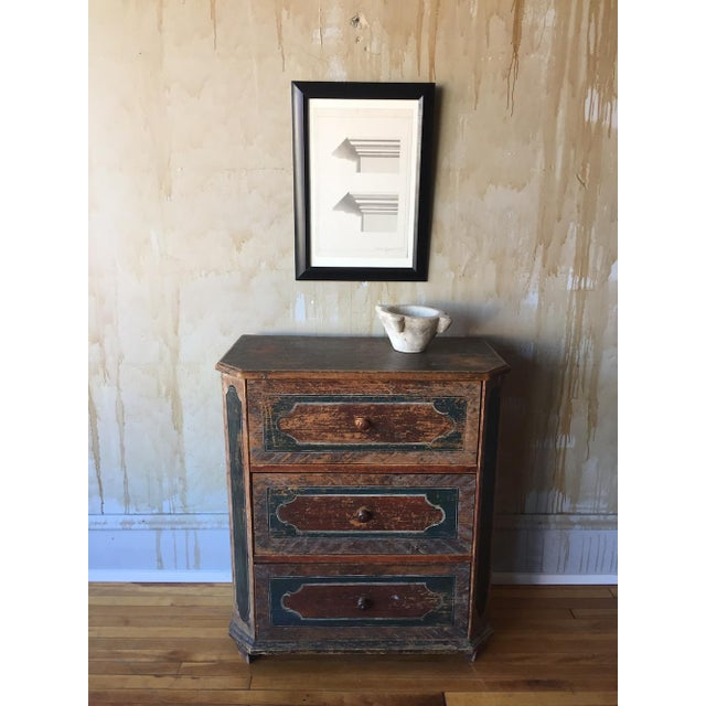 Small Arte Povera Chest of Drawers For Sale - Image 9 of 11