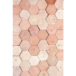 Reclaimed Terra Cotta Hexagonal Flooring