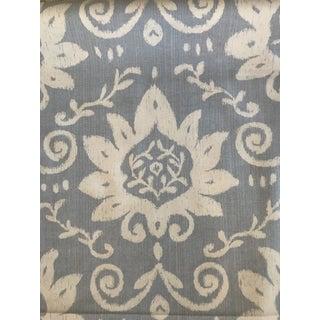 French Anna French Thibaut Bridgewater Damask Fabric - 2 1/2 Yards For Sale