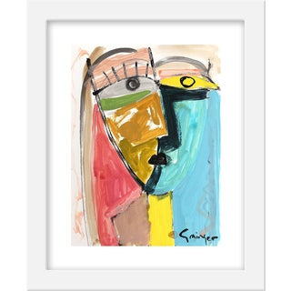 """Stella and Joe"" by Lesley Grainger, 10"" X 12"""