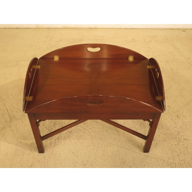 Kittinger Chippendale Mahogany Butler Coffee Table - Image 2 of 11