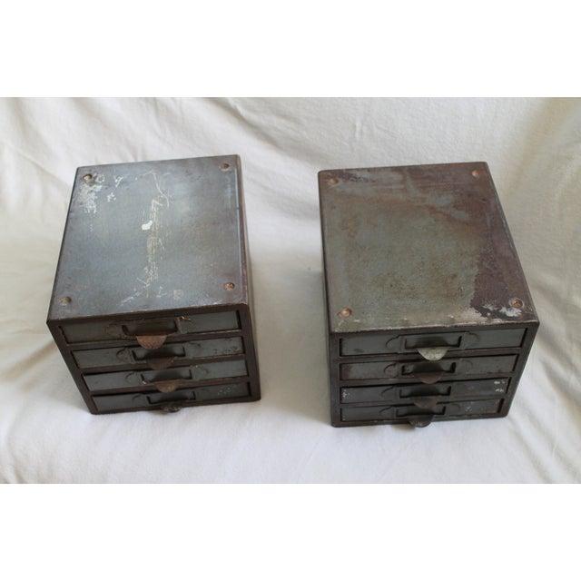 Industrial Metal Storage Desktop Cabinets - Image 3 of 11