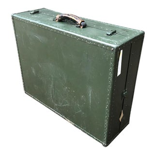Vintage 1940's Military Trunk For Sale