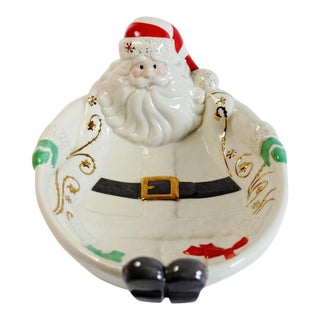 Santa Candy Dish For Sale