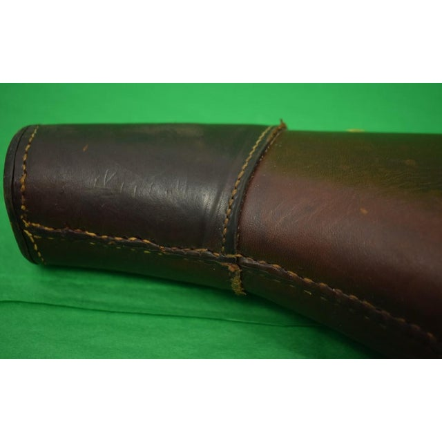 Leather Abercrombie & Fitch Leather Gun Case For Sale - Image 7 of 9