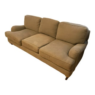 Restoration Hardware English Roll Arm Sofa For Sale