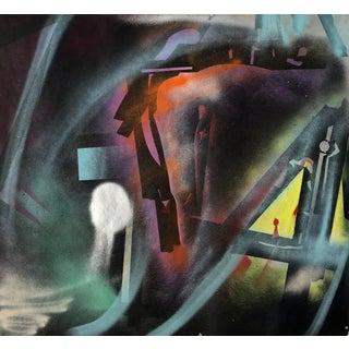 """""""Escapement"""" Original Oil Painting by Erik Sulander 42x36 For Sale"""