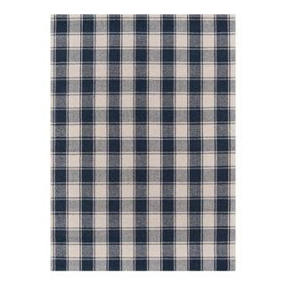 "Erin Gates by Momeni Marlborough Charles Navy Hand Woven Wool Area Rug - 3'6"" X 5'6"""