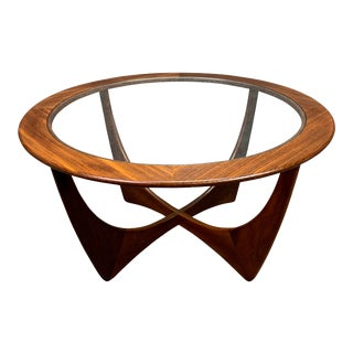 "1960s Mid Century Modern G Plan Teak ""Astro"" Round Coffee Table For Sale"