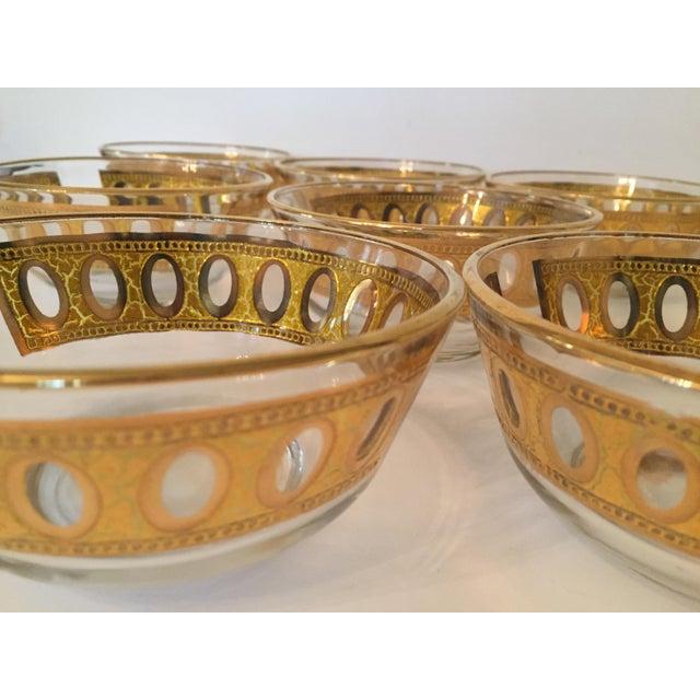 Culver Antigua 22k Gold Dessert Bowls - Set of 8 - Image 9 of 9