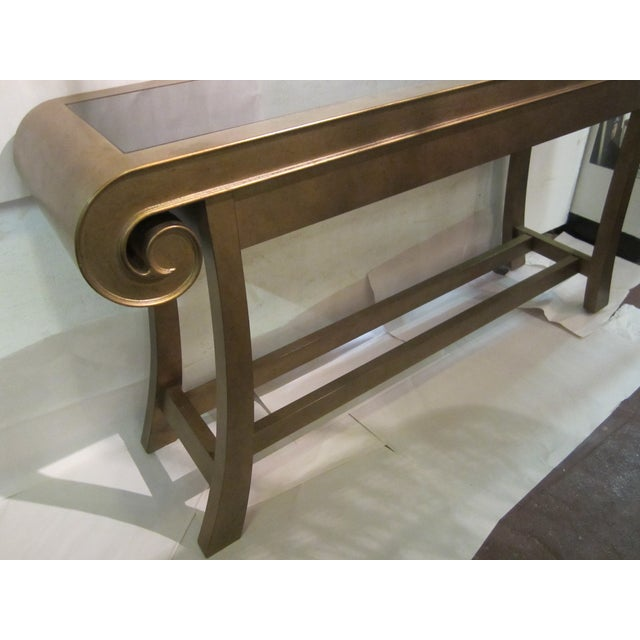Aged Bronze Finish Console by Century Furniture - Image 8 of 8