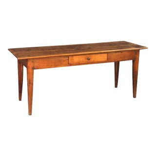 French Console Server or Sideboard of Cherry For Sale