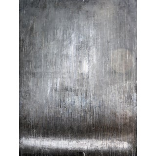 """""""1212 Grey Elegance Wall"""" Abstract Painting For Sale"""