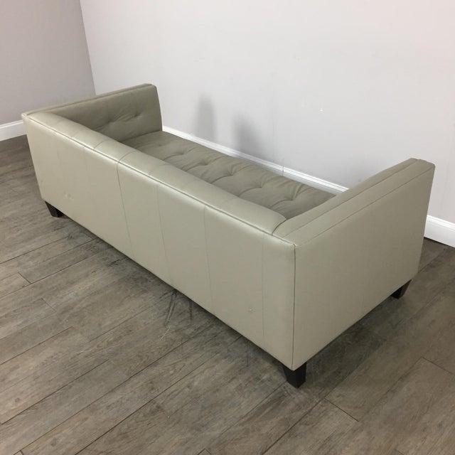 Z Gallerie Modern Tufted Sofa - Image 10 of 11