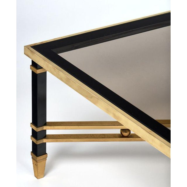 Glass Italian Modernist Coffee Table For Sale - Image 7 of 12