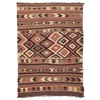 Antique Bowlan Kilim For Sale