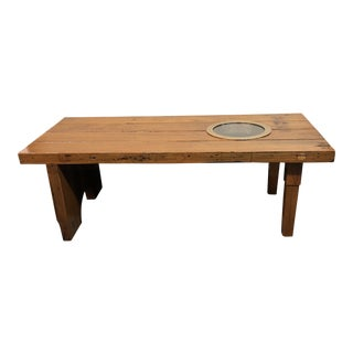 Uss General Gaffey Hatch Door Coffee Table For Sale