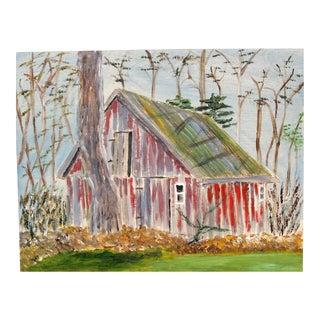 """Wye Mills Barn"" Painting"