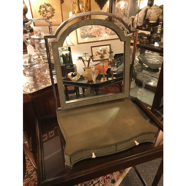 Theodore Alexander Vanity or Shaving Mirror For Sale - Image 10 of 11