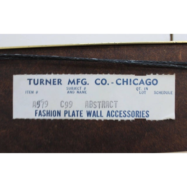 1970s Modern Op Wall Art by Turner For Sale - Image 10 of 11