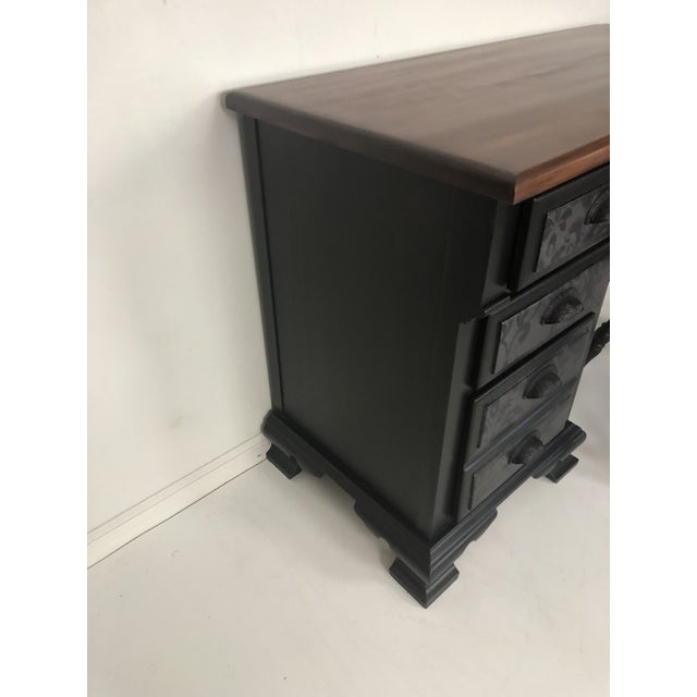 """Meet """"Black Beauty"""" Her name says is all... Made of solid maple and with four amazing drawers, one is nice and deep, she's..."""