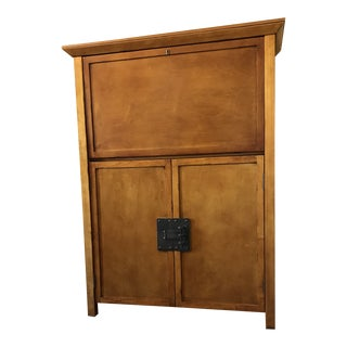 Pottery Barn Dry Bar and Wine Cabinet