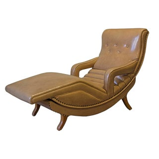 Mid-Century Contour Massage Chair For Sale