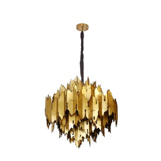 2010 Brutalist Bergamo Chandelier For Sale