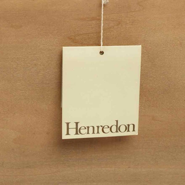 Metal 1970s Henredon Circa 76 Collection Campaign Chest For Sale - Image 7 of 10