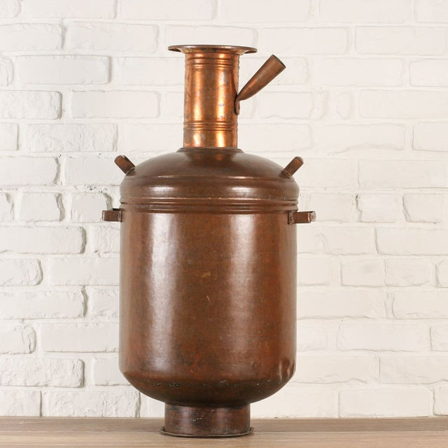 Copper Hot Water Maker or Samovar from India - Image 3 of 5