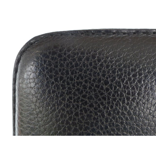 Metal , Wood & Leather Armchairs for Xo Design-Set of 4 For Sale - Image 9 of 9