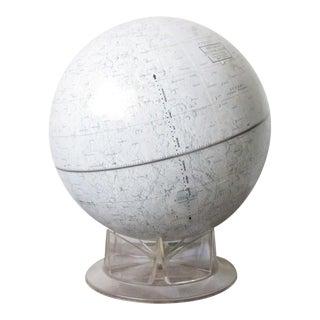 Vintage Replogle Mid-Century Lunar Moon Globe