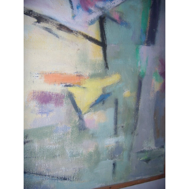 Signed 1961 Jean Young Abstract Painting - Image 6 of 11