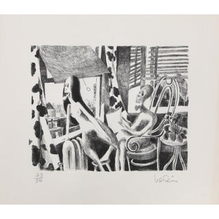 Arnie Levin, Air Conditioning Lithograph For Sale