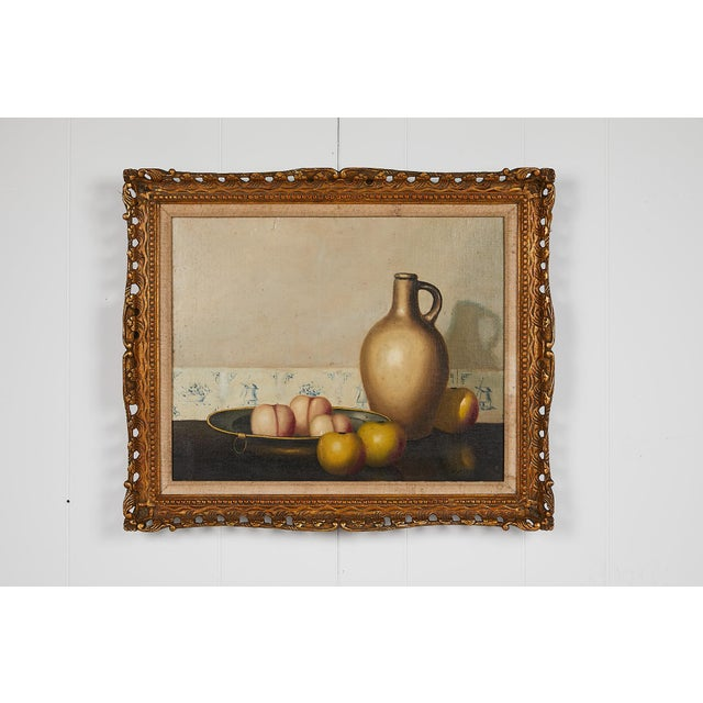 Pair of 19th Century Still Life Oil Paintings For Sale - Image 12 of 13