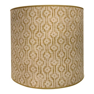 Shipibo Drum Shade With Diffuser For Sale
