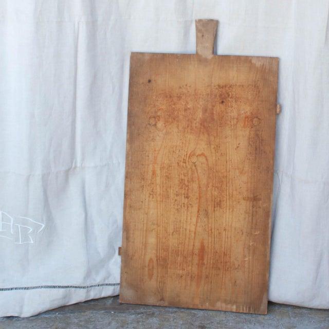 Vintage German Primitive Bread Board - Image 2 of 5