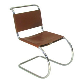 1960s Vintage Mies Van Der Rohe Mr Chair For Sale