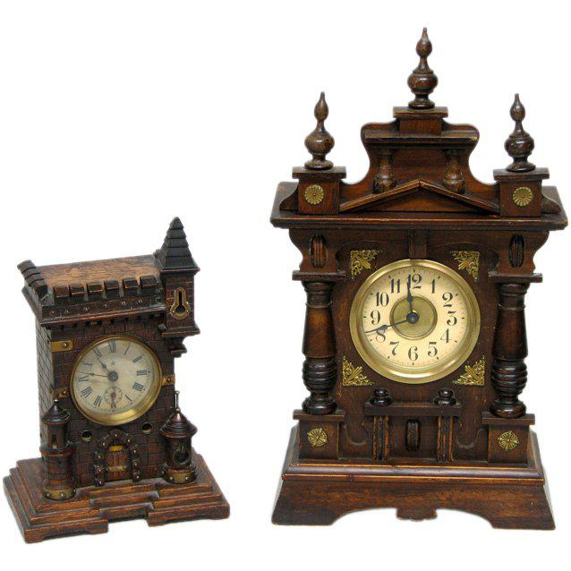 Black Forest Two 19th Century Black Forest Clocks For Sale - Image 3 of 3