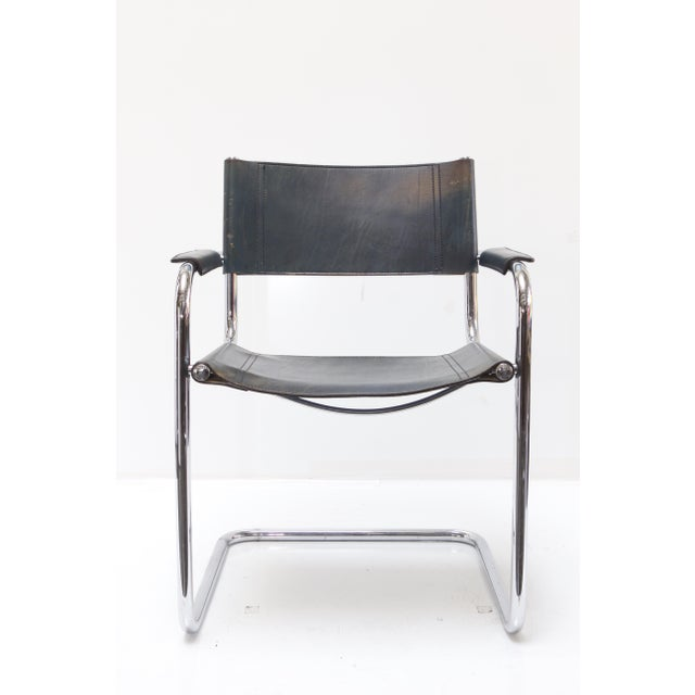 Marcel Breuer Leather Armchairs - A Pair - Image 3 of 11