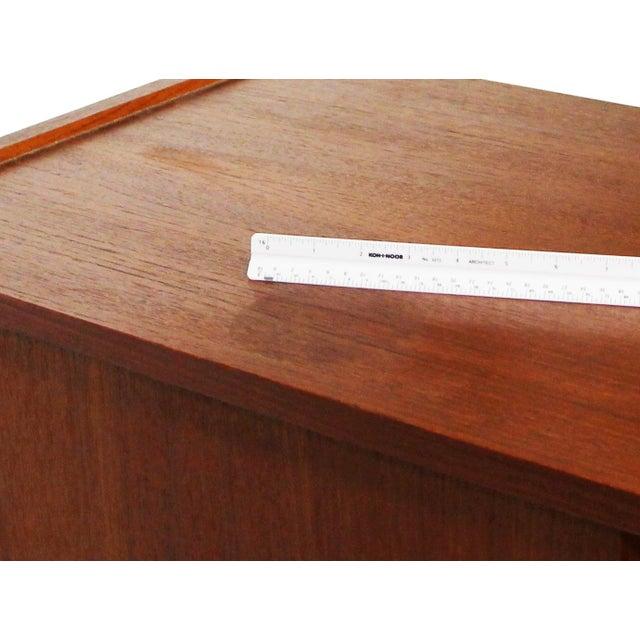 German Teak Credenza For Sale - Image 10 of 11