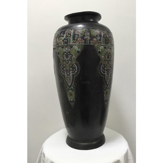 19th Century Chinese Cloisonné Vase For Sale - Image 9 of 9