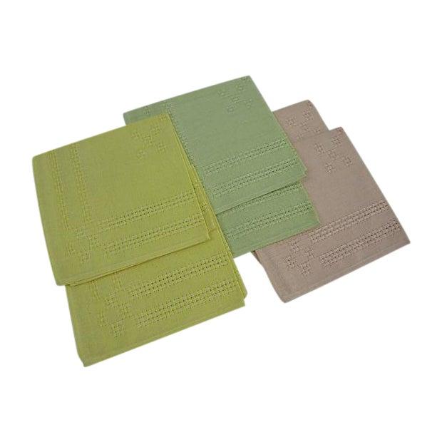 German Pastel Napkins - Set of 6 - Image 1 of 5
