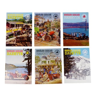 Horseless Carriage Gazette Magazines - 1964 Full Year - Collectible