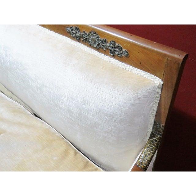 Regency Style Upholstered Sofa - Image 8 of 8